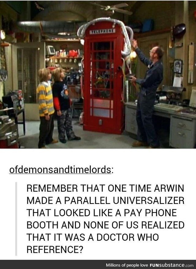 Zack and Cody meet Doctor Who ... OH MY GOD OH MY GOD OH MY GOD OH MY GOD