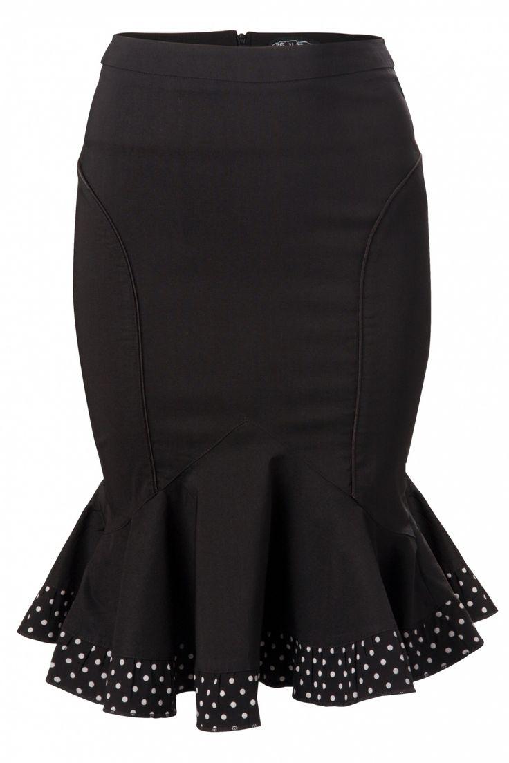Bunny - Marlene skirt polka dot frill bow