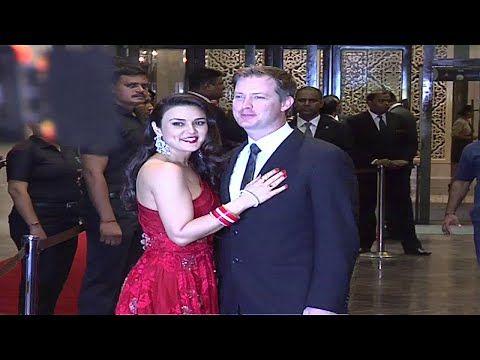 Preity Zinta & Gene Goodenough from their wedding reception.