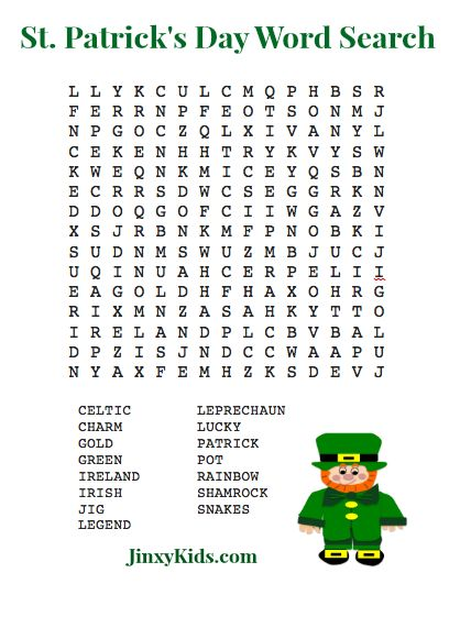 F A Ebbec F A B Cbf C School Worksheets Printable Worksheets as well Pdfi Stpat Word Search likewise St Patricks Day Word Search X further St Patricks Day Word Search Worksheets besides St Patricks Day Coloring. on saint patricks day word search printable