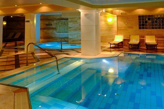 Mare Nostrum Hotel Club Thalasso - Vravrona, Attica, Greece  Thalassotherapy / spa centre - main indoor heated seawater pool
