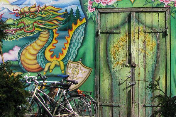 Христиания: очаровательный мир хиппи в Копенгагене #Denmark #Copenhagen