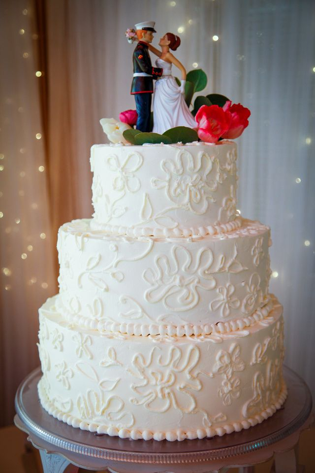 My future wedding cake (someday) (: delicious #Marine #wedding #cake
