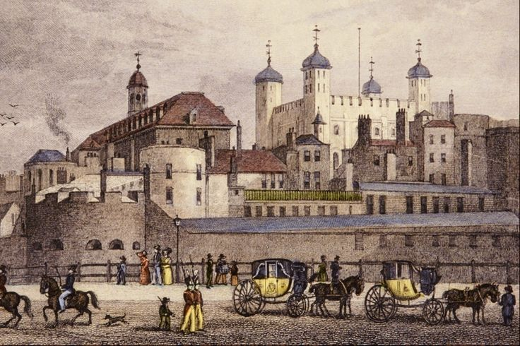 File:The Tower of London from Tower... - Thomas Homser Shepherd.png