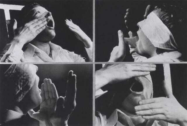 Gina Pane, Psychè, 1974