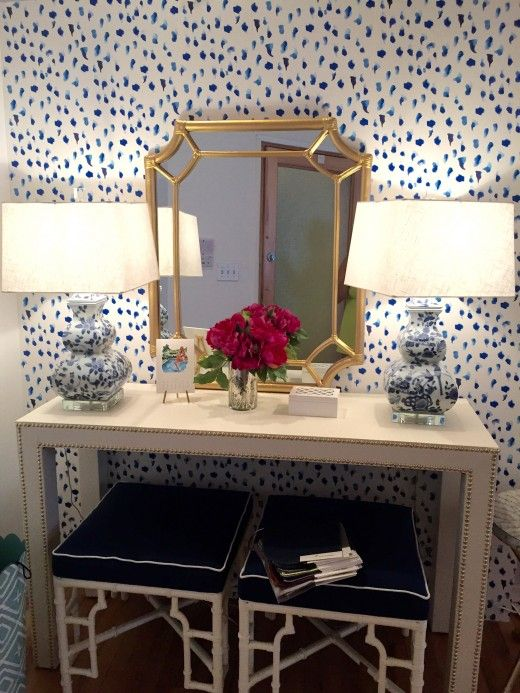chinoiserie chic blue and - photo #3
