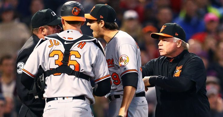 Orioles' Kevin Gausman ejected after questionable hit batsman, series remains heated with Red Sox - USA TODAY