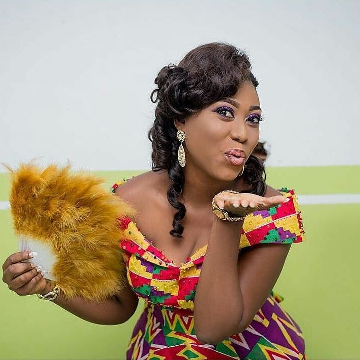 PRETTY GAL IN PRETTY KENTE... Congratulations to you Sandra. We wish you all the best on your new life's journey. GBU