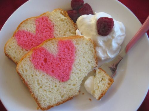 Bake your heart in a cake