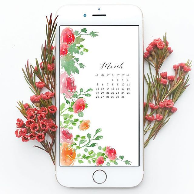 It's almost March! Grab these spring floral wallpapers for desktops and phones over at the blog now