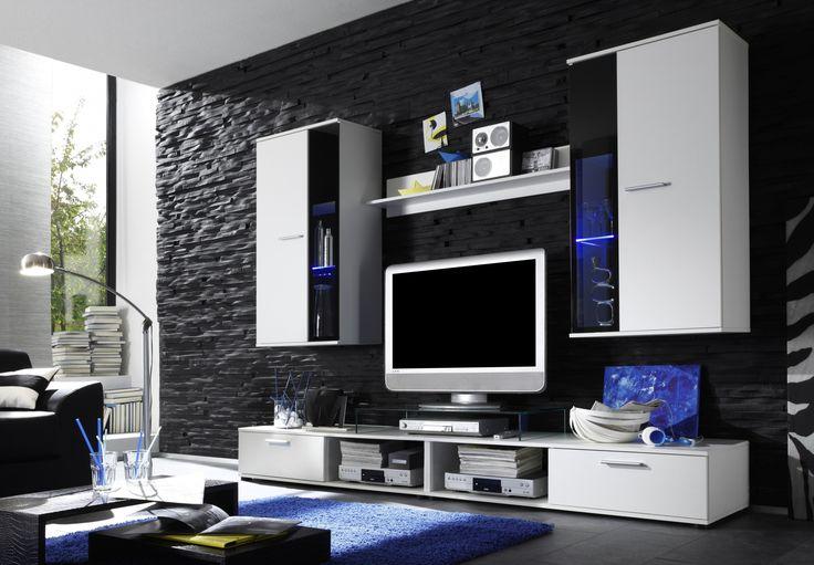 Schön Wohnzimmer Einrichten Schwarz Weiß Wohnzimmermöbel Pinterest - wohnzimmer landhausstil gebraucht