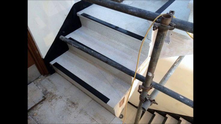 Terrazzo Stair Cleaning Polishing Restoration Sealing - Surrey, East Sus...