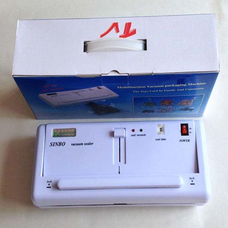 373.36$  Buy here - http://ali4ue.worldwells.pw/go.php?t=32705484053 - 8 PC DZ280 Household Food vacuum Plastic Bag Sealer Sealing Machine Small vacuum packaging machine 373.36$