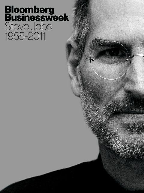 Bloomberg Businessweek - Steve Jobs tribute issue cover