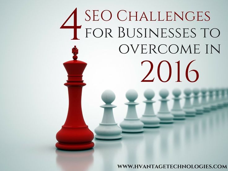 4 SEO Challenges for Businesses to overcome in 2016 #digitalmarketing #seo #ppc