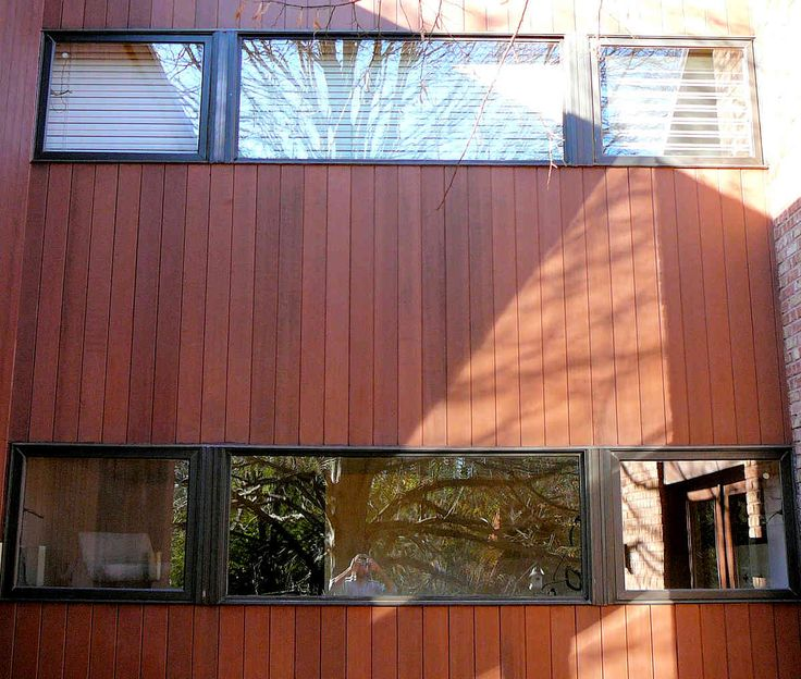 Redwood heart t g siding clear all heart cah grade home for Redwood siding cost