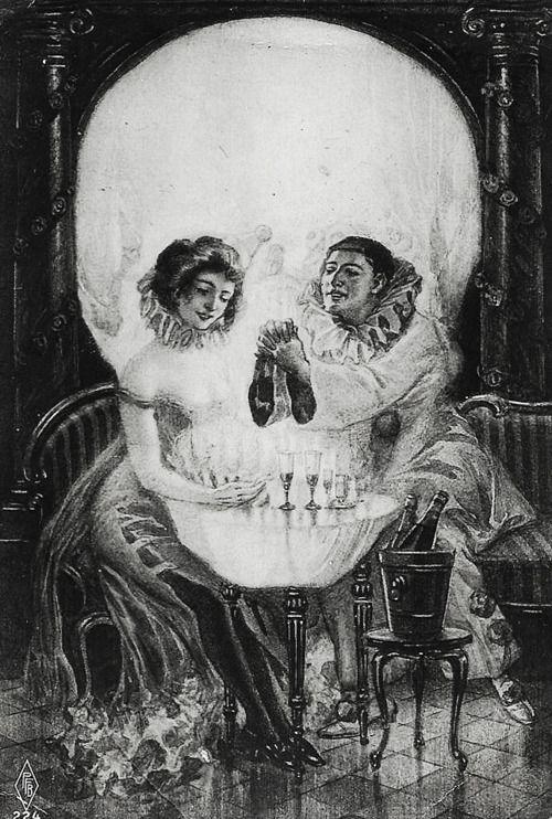 """""""L'Amour de Pierrot"""" 1905"""