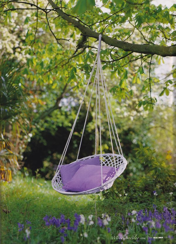 Hanging Tree Swing Chair Parsons Chairs With Slipcovers Spring Sensory Overload Providence Design Diy Projects Backyard Garden Home