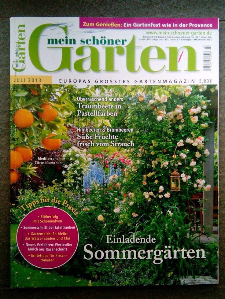 Nice Mein sch ner Garten Zeitschrift von Juli eBay