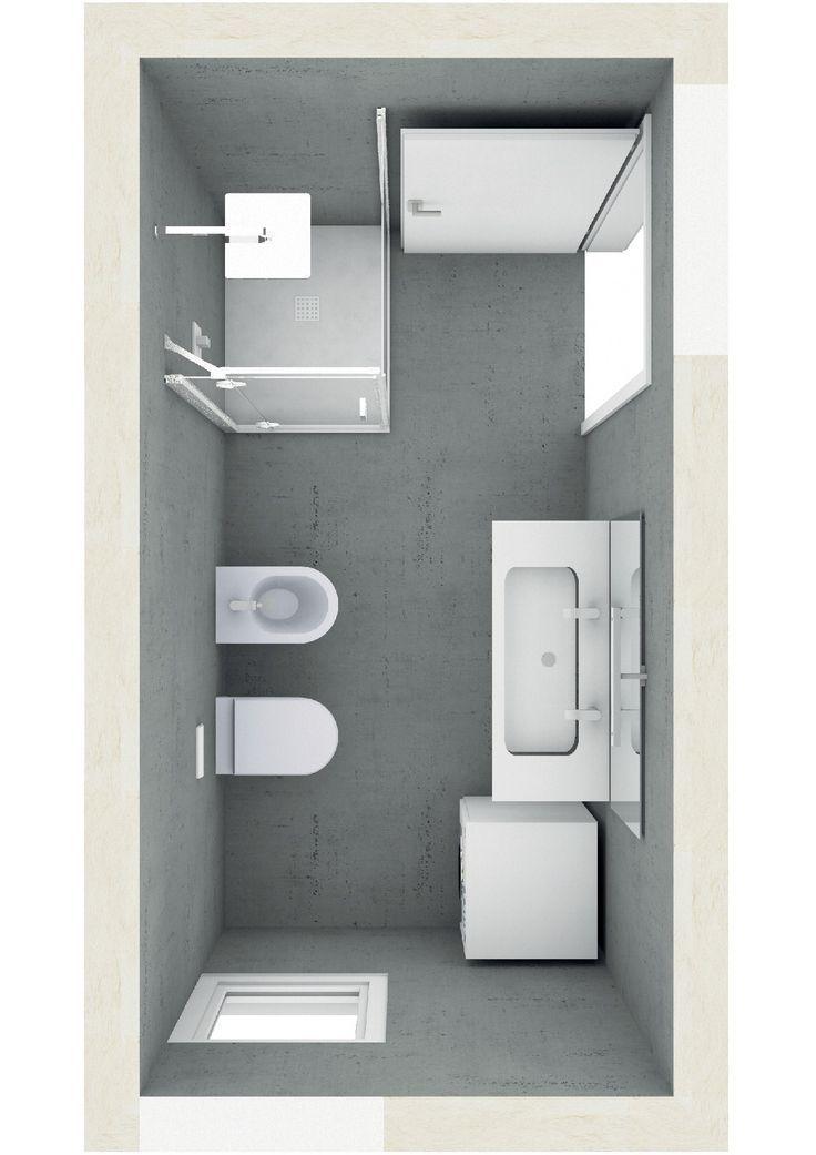 Badezimmer Ideen Grundriss Schmal 12 Anstandig Bi In 2020