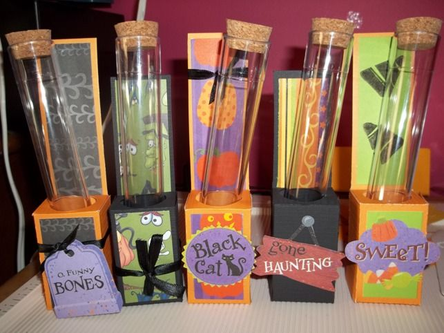 Halloween Treat Holder by sarahchatley - Cards and Paper Crafts at Splitcoaststampers