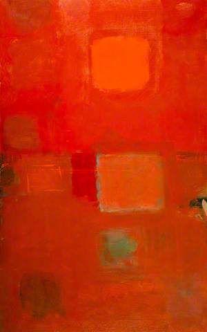 Square Sun. Patrick Heron.