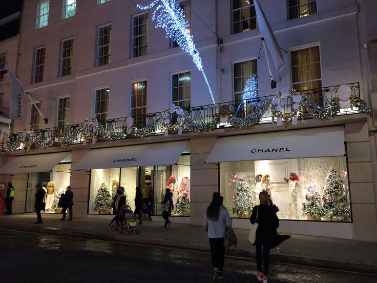 Chanel Christmas Display 2014