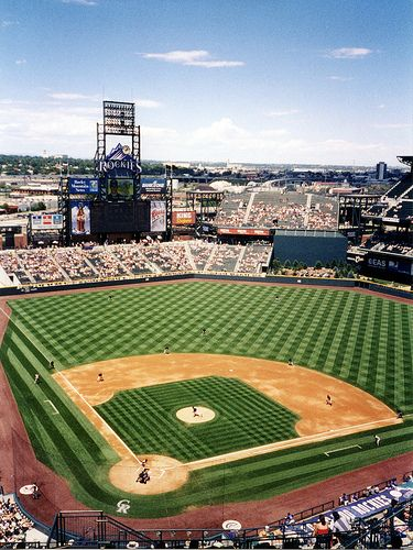 Coors Field - Home Of The Colorado Rockies Baseball Team; Denver, Colorado