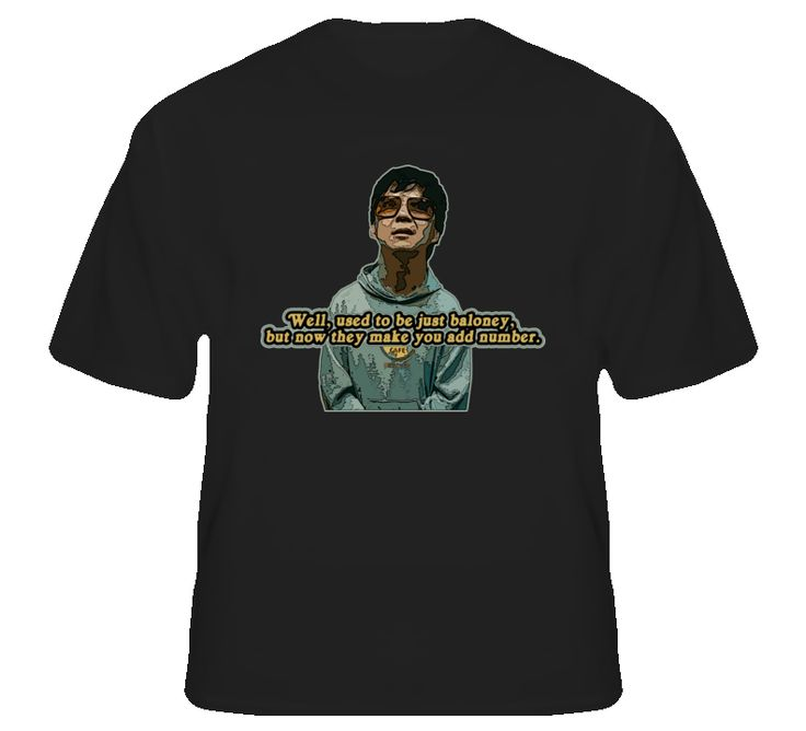 Leslie Chow Hangover Bangkok funny quote movie fan t shirt