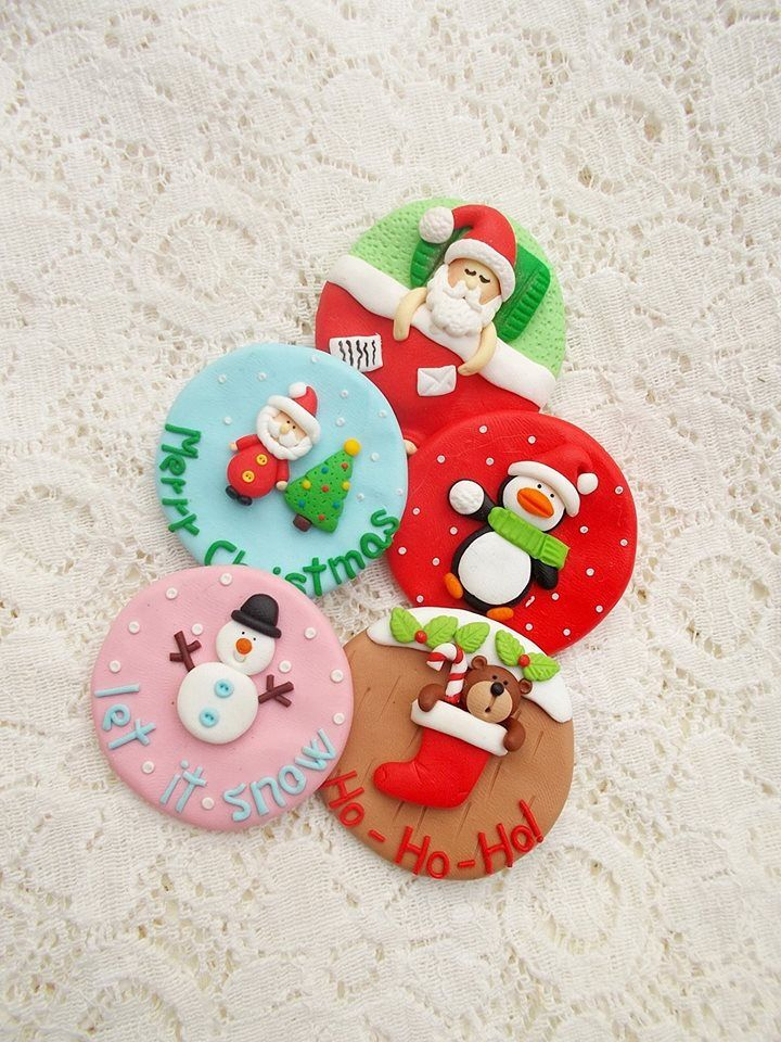 Christmas Pin Brooch - Christmas Gifts - Stocking Filler Jewelry - Christmas Jewellery - Santa, Penguin, Snowman jewelry by Nahoot on Etsy https://www.etsy.com/listing/548999465/christmas-pin-brooch-christmas-gifts