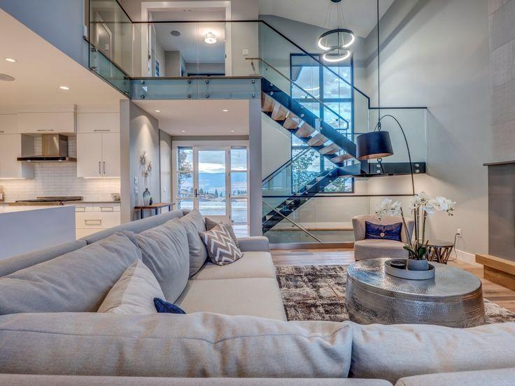 Open concept living room    #Community #CustomHomes #EntryWay #HomeBuilder #KelownaHomes #LivingRooms #LuxuryHomeBuilders #ShowHome #Wilden Read More