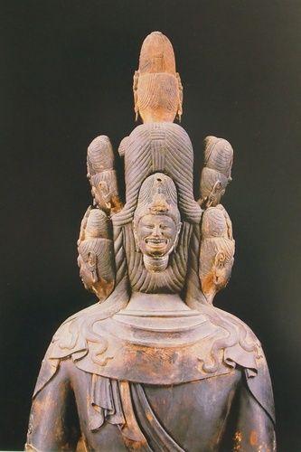 十一面観音(渡岸寺)暴悪大笑面 Guanyin [ Dougan-ji ] 9th century