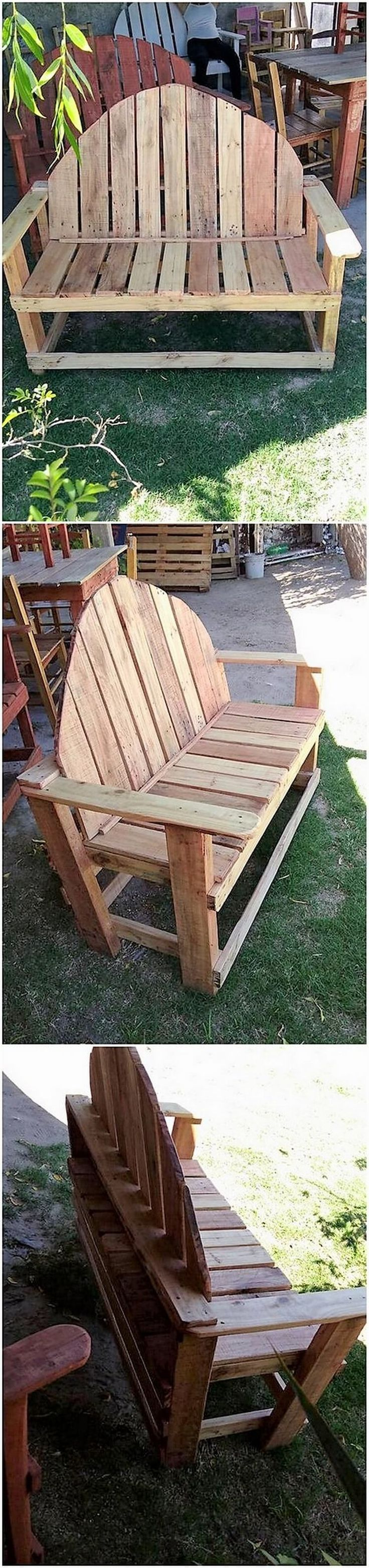Eye Catching Wood Shipping Pallet Ideas