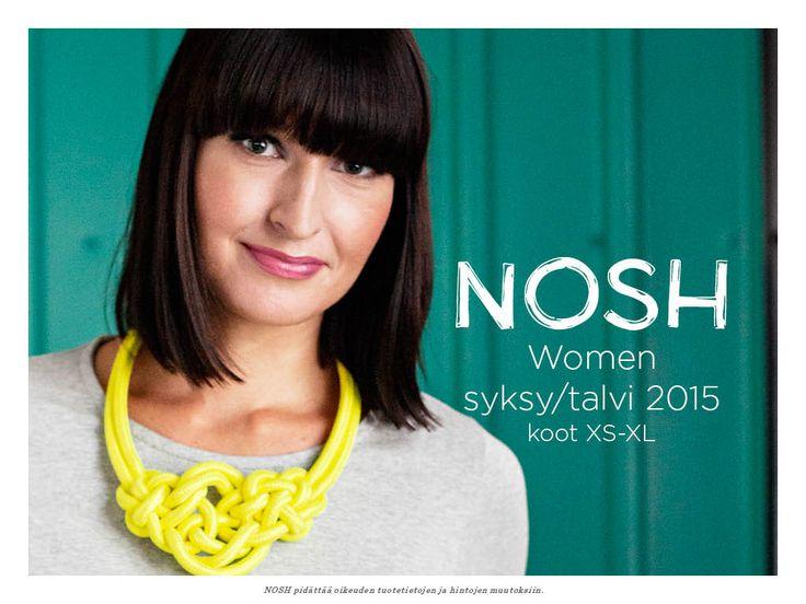 NOSH Naisten Lookbook | NOSH verkkokauppa   -  Naisten syysuutuudet nyt kutsuilla! Tutustu mallistoon!