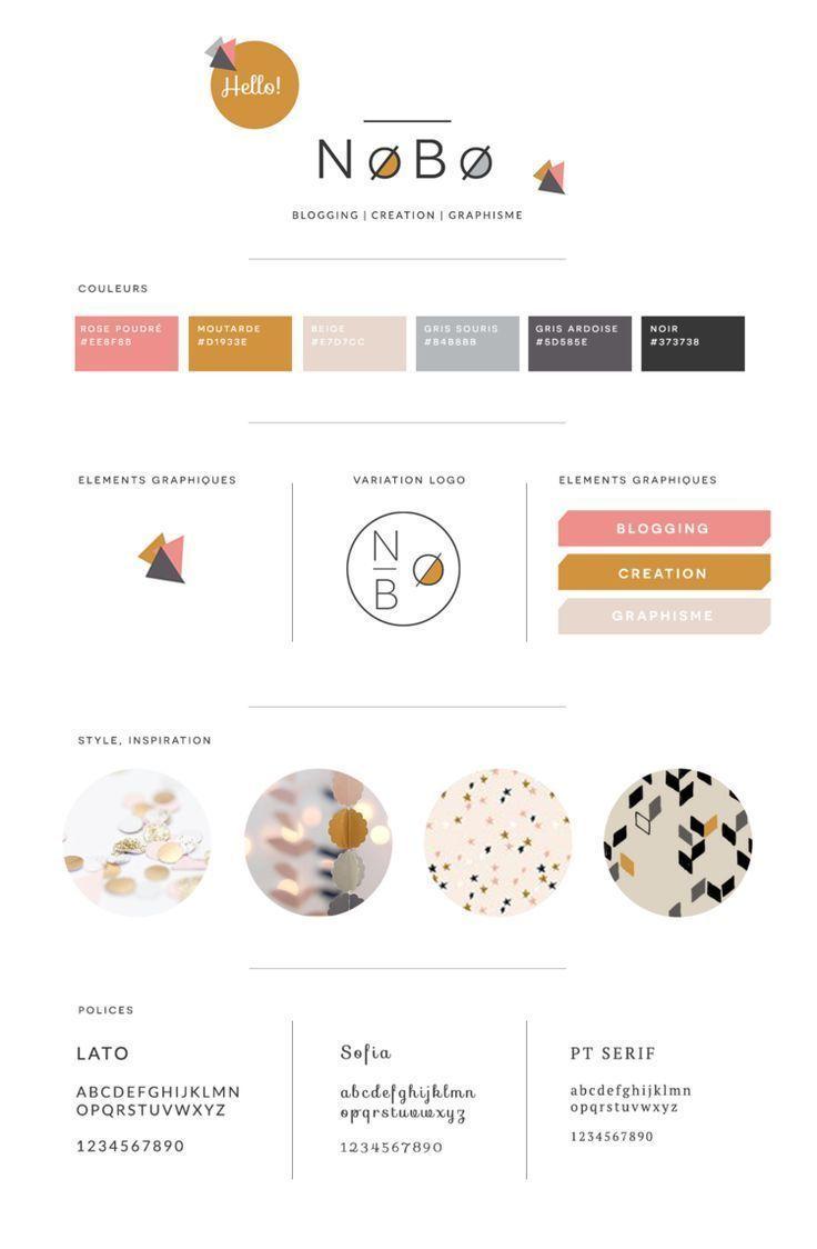 Fashion Infographic Creer Une Brand Board Personal Branding Design Branding Infographic Style Guide Design