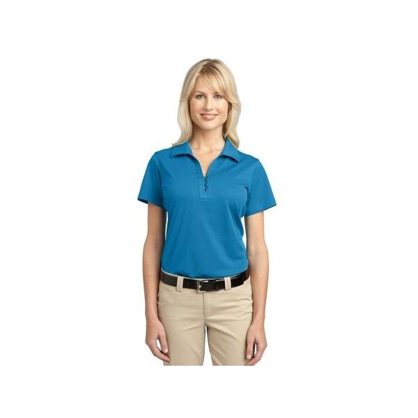 Port Authority Ladies Tech Pique Polo. L527 If you would like to place a order for this shirt please email us atsales@adaprint.comor give us a call at 281-353-4646. We also have a location on Aldine Westfield in Spring. 23333 Aldine Westfield Spring TX 77373. http://temporary.houstonprint.com/index.php?id_product=1000&controller=product