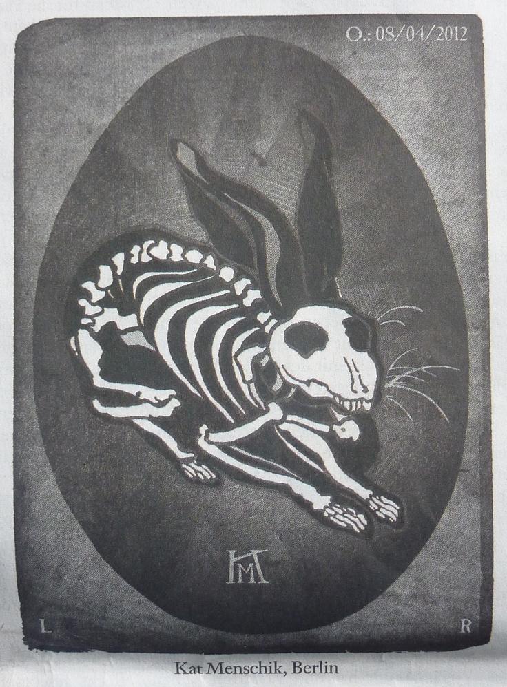 In today's newspaper: Kat Menschik after Albrecht Dürer
