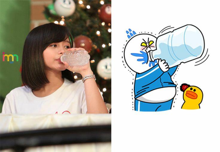 "Priscillia Sari Dewi (Team KIII) - ""Drinking"" Moon"