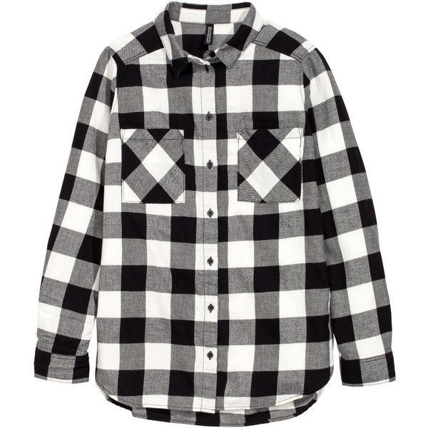 Flannel Shirt $17.99 ($18) ❤ liked on Polyvore featuring tops, flannel, flannel top, plaid flannel shirt, woven shirts, tartan shirt and curved hem shirt