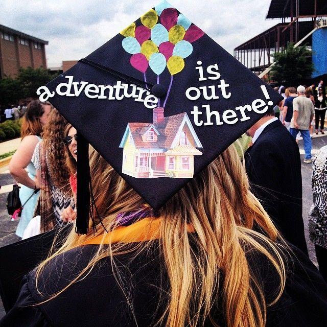 #graduation #cap #disney #adventure #UP #graduationcap