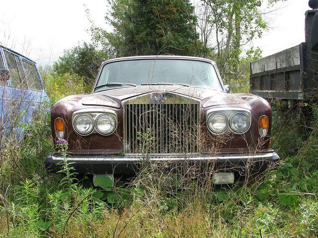 Abandoned rolls royce vintage rolls royce bentley for Unclaimed motor vehicle ohio