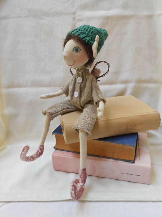 Elf doll  Elf on the shelf  Christmas elf  Waldorf elf by FelThink