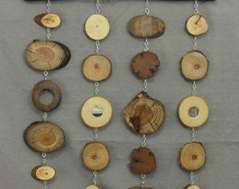 Tranche de bois rustique moderne sticker. Ensemble par shiningcity