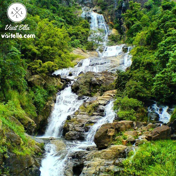 Ravana Falls ranks as one of the widest falls in the country.   #VisitElla #Ella #SriLanka  #memoriestoremember #ravanafalls #visitsrilanka