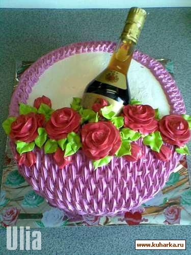 213 best Wine bottle cake images on Pinterest Conch fritters