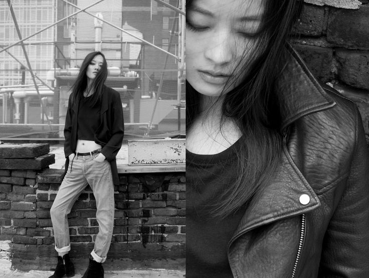 THVM AW15 Campaign by Olga Nazarova, featuring Li Xiaoxing from Woman Management NYC