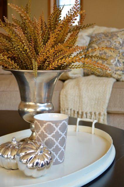 Simple elegant fall decorating be inspired pinterest - Elegant fall decorating ideas ...