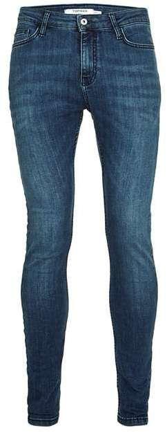 Dark Wash Spray On Skinny Jeans