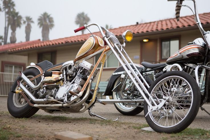 Custom chopper_old school