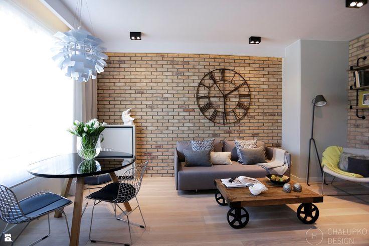 Salon styl Industrialny - zdjęcie od Chałupko Design - Salon - Styl Industrialny - Chałupko Design